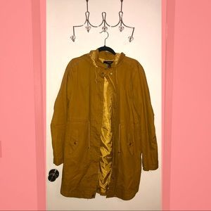Forever 21 Mustard Yellow Jacket